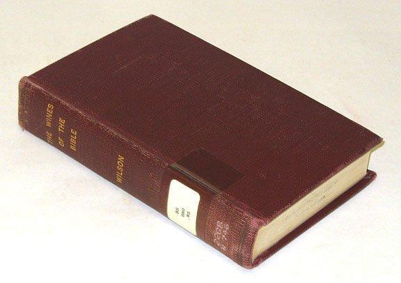 1044: Wilson WINES OF THE BIBLE 1877