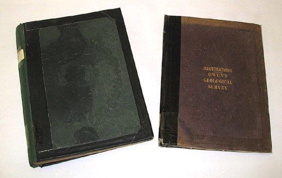 1049: Owen GEOLOGICAL SURVEY Wisconsin Iowa 1852 Plates