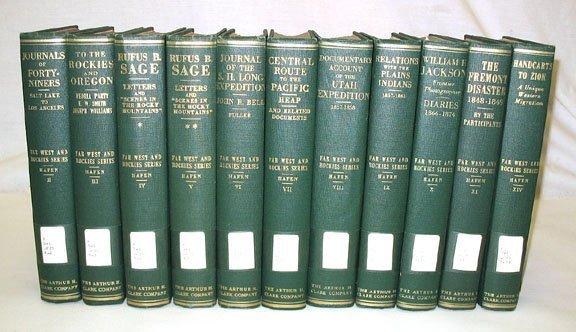 1166: Hafen FAR WEST AND ROCKIES Series 11 vols
