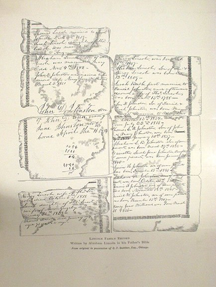 1181: HERNDON'S LINCOLN Weik SIGNED 1889 First Edition  - 5