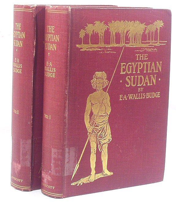 3001: Budge THE EGYPTIAN SUDAN 2v. 1907
