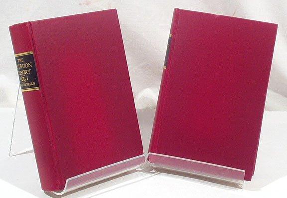 3008: De Vries MUTATION THEORY 1909 2 vols.