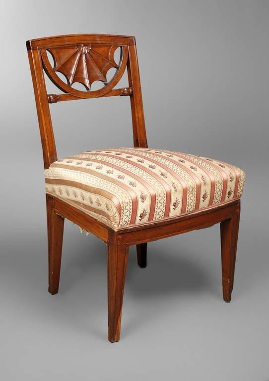 Stuhl aus dem Weimarer Stadtschloss