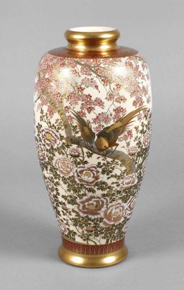 Vase von Satsuma