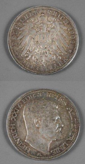 Drei Mark Reu 1909
