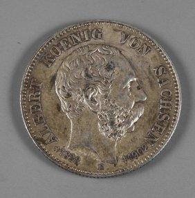 Zwei Mark Sachsen 1902