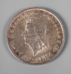 Fünf Mark 1934