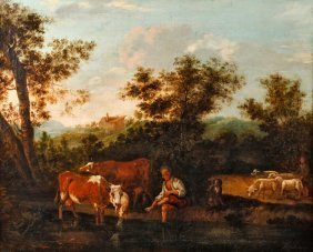 Barocke Hirtenlandschaft