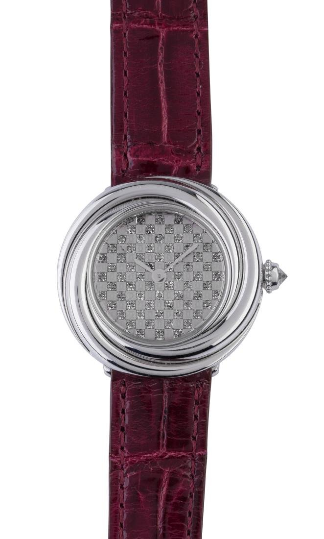 CARTIER - A Fine and Elegant Trinity Ref. 2444, 26mm