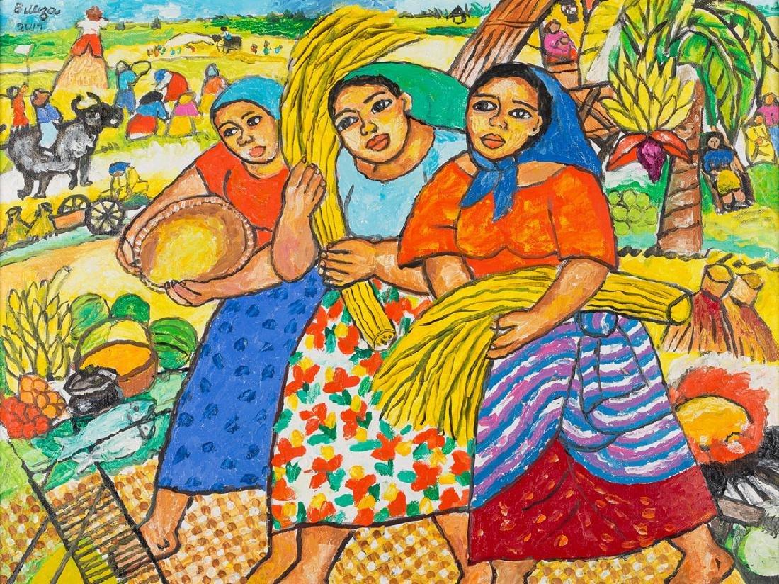 NORMA BELLEZA (B. 1939)  - Golden Harvest