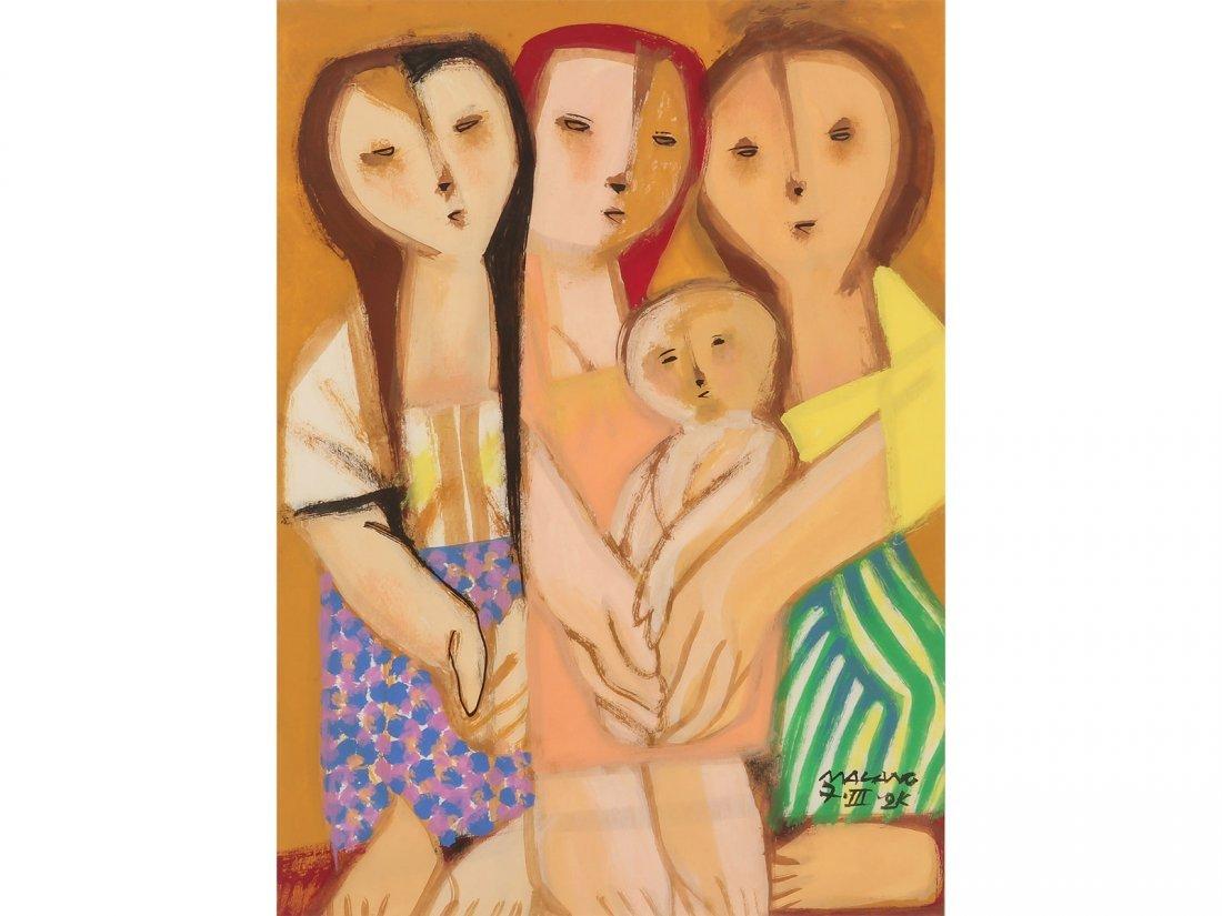 MAURO MALANG SANTOS -Three Women
