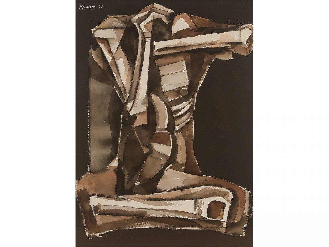 ANG KIUKOK -Untitled (Seated Figure)