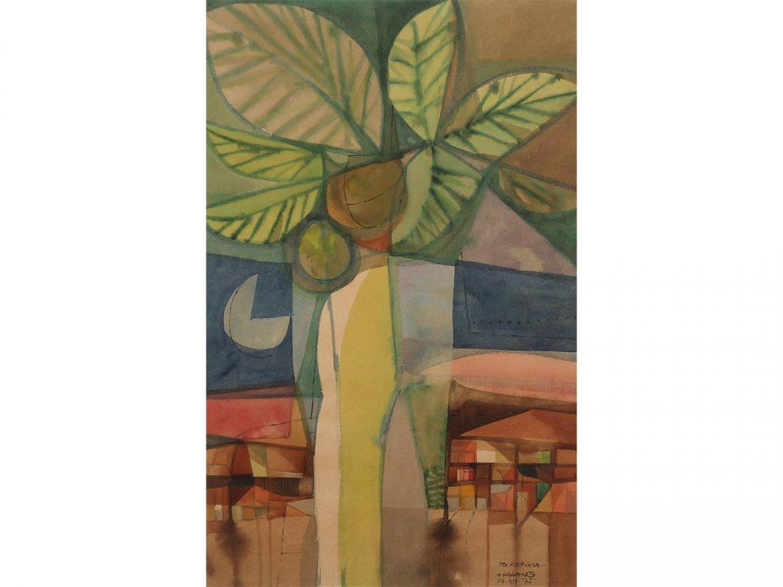 MAURO MALANG SANTOS -Green Tree