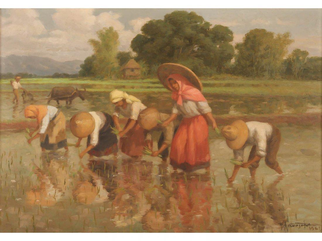 FERNANDO AMORSOLO -Planting Rice