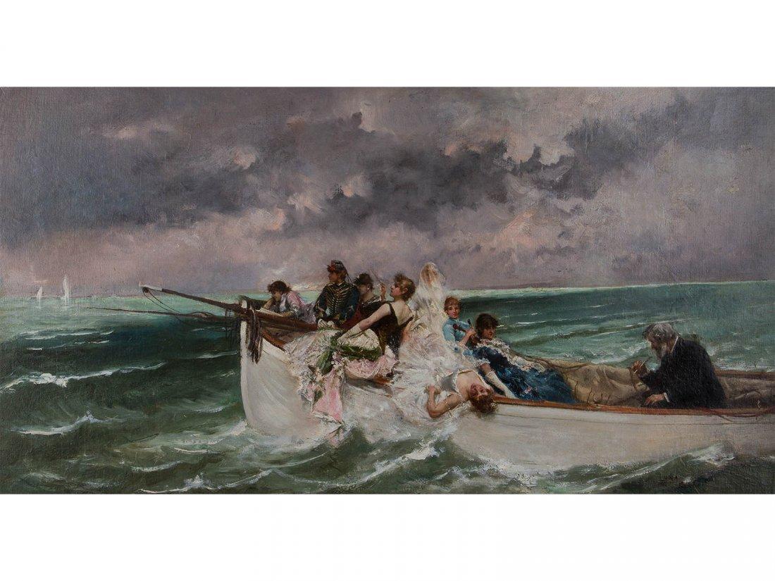 JUAN LUNA Y NOVICIO -¿A Do...Va la Nave?