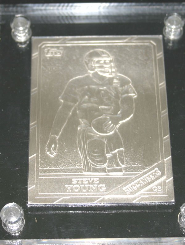 2008: SPORT LIMITED EDITION SILVER MINT CARD (STEVE YOU