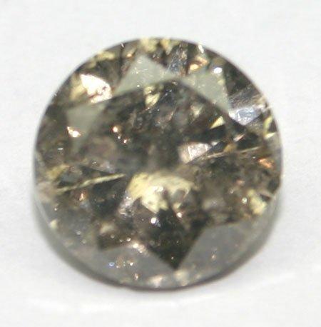 2013: 3.CT NATURAL FANCY BROWN  DIAMOND .