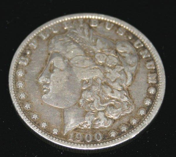 2015: US  SILVER  DOLLAR COIN  1900 .