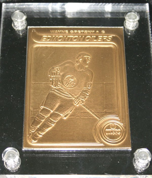 2005: SPORT LIMITED EDITION BRONZE MINT CARD (WAYBE GRE