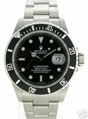 5231: ROLEX SUBMARINER STAINLESS STEEL