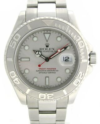 4473: MEN'S  ROLEX  YATCH-MASTER  .