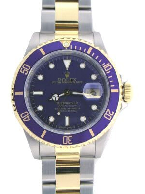 5334: ROLEX SUBMARINER TWO TONE 18K/SS