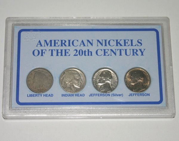 2021: AMERICAN NICKELS OF THE 20th CENTURY .