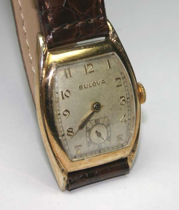 4016: BULOVA  NINTAGE  1950-1960  WRIST WATCH .