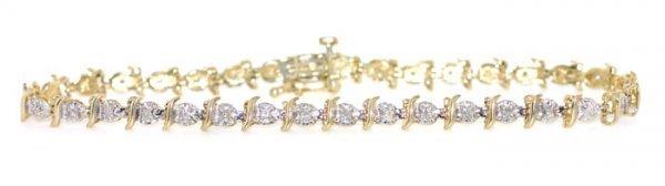1006: Diamond Tennis Bracelet