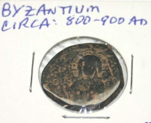 2024: ANCIENT  ROMAN  BRONZE  COIN .