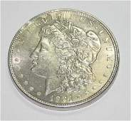 2040: USA MORGAN SILVER DOLLAR COIN (YEAR 1921) .
