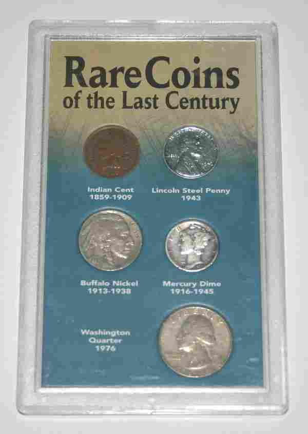 2096: RARE  COINS  OF  THE  LAST  CENTURY.