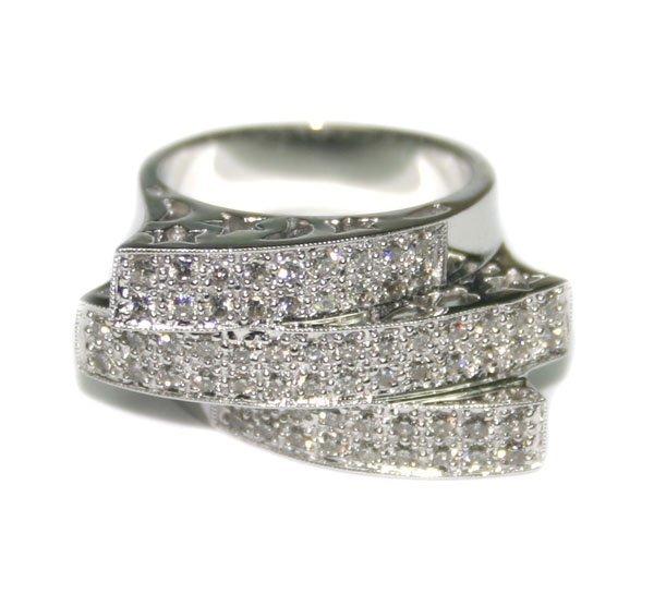 5078: 2,CT DIAMOND  12.40 GR  14KT GOLD RING.