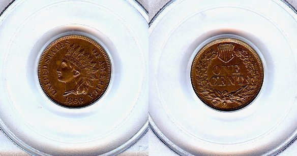 2004: 1866 MS-64 BN  PCGS  INDIAN