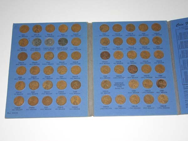 3016: LINCOLN HEAD CENT COLLECTION STARTING 1941