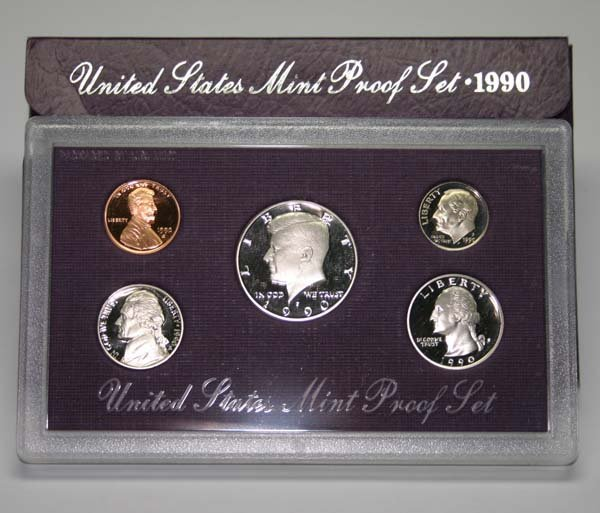 5019: UNITED STATES MINT PRROF SET 1990