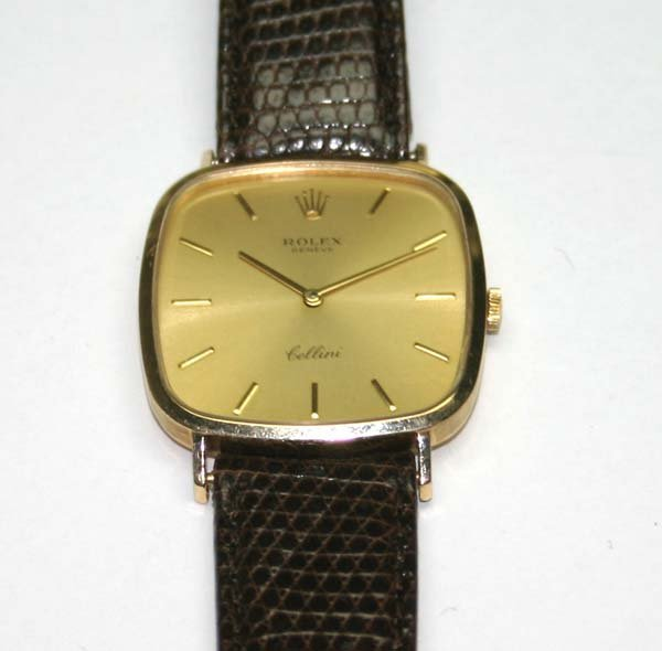 3415: ROLEX  CELLINI  GOLD  LIKE  NEW .