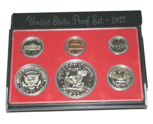 3018: 1977 UNITE STATE PROOF SET.