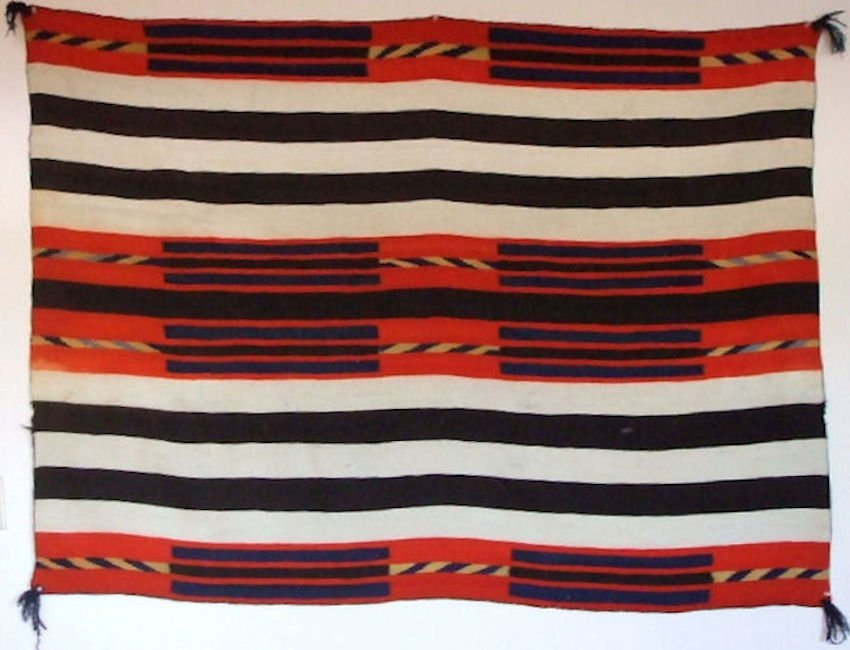 Late Classic Navajo Second Phase Chiefs Blanket