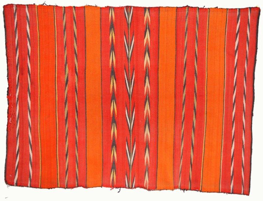 Navajo Banded Childs Blanket