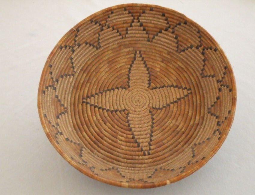 Southern California Polychrome Basket