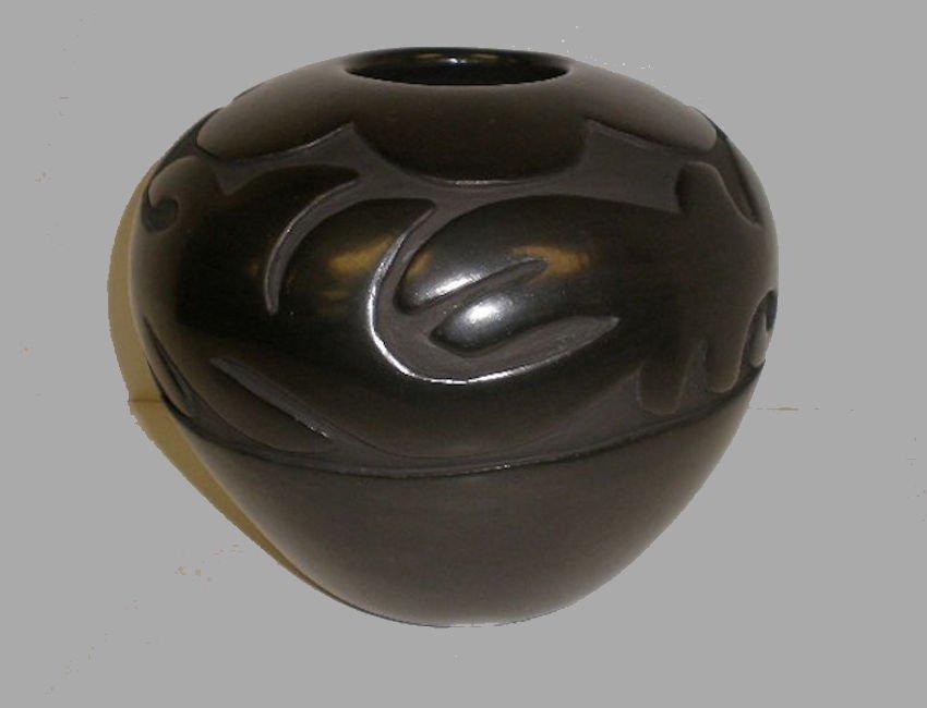 Large Santa Clara Avanyu Pot