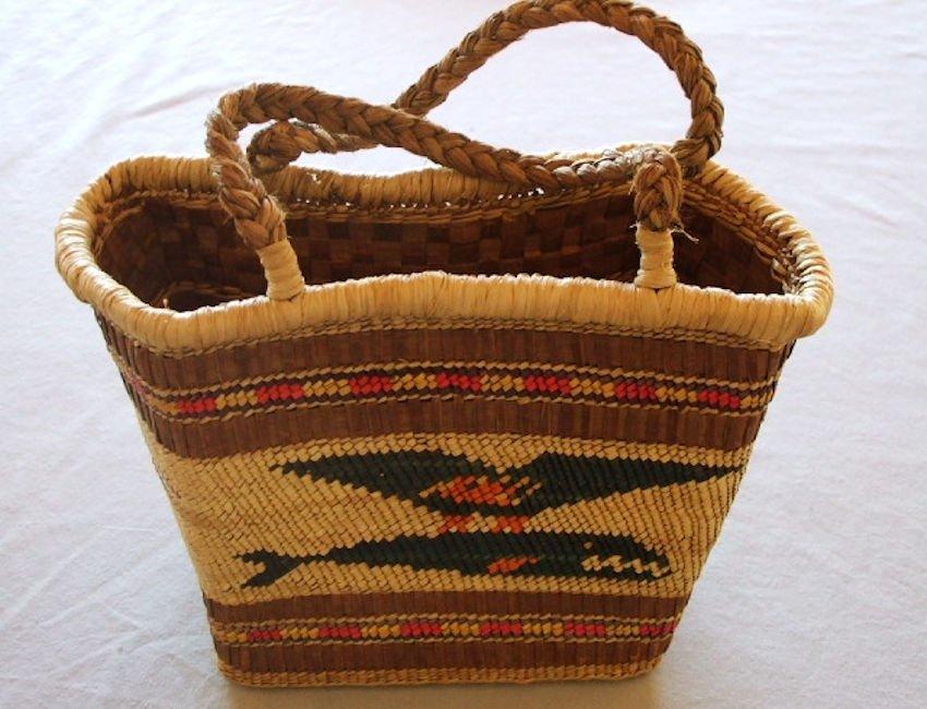 Northwest Coast Makah Basket