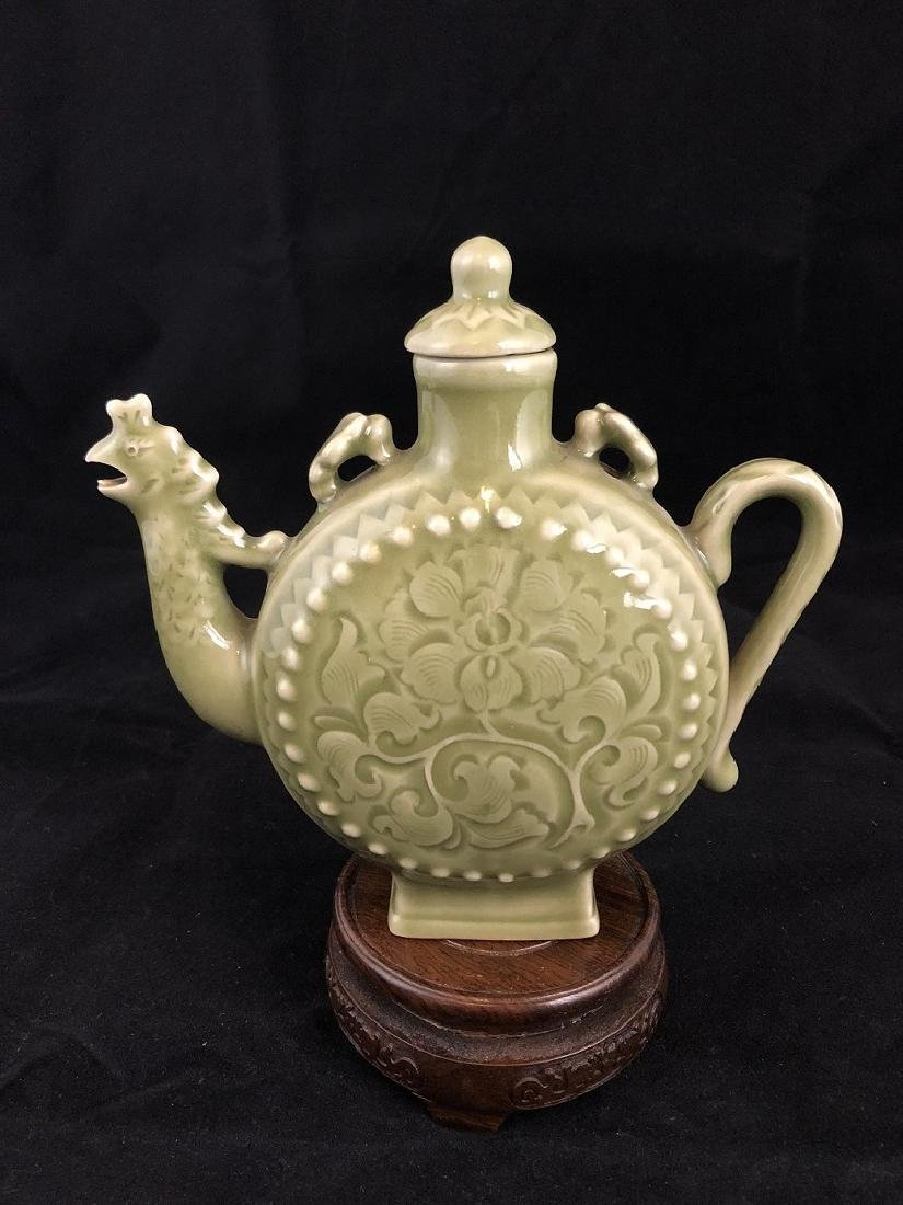 Song Style Longquan Phenix Head Tea Pot