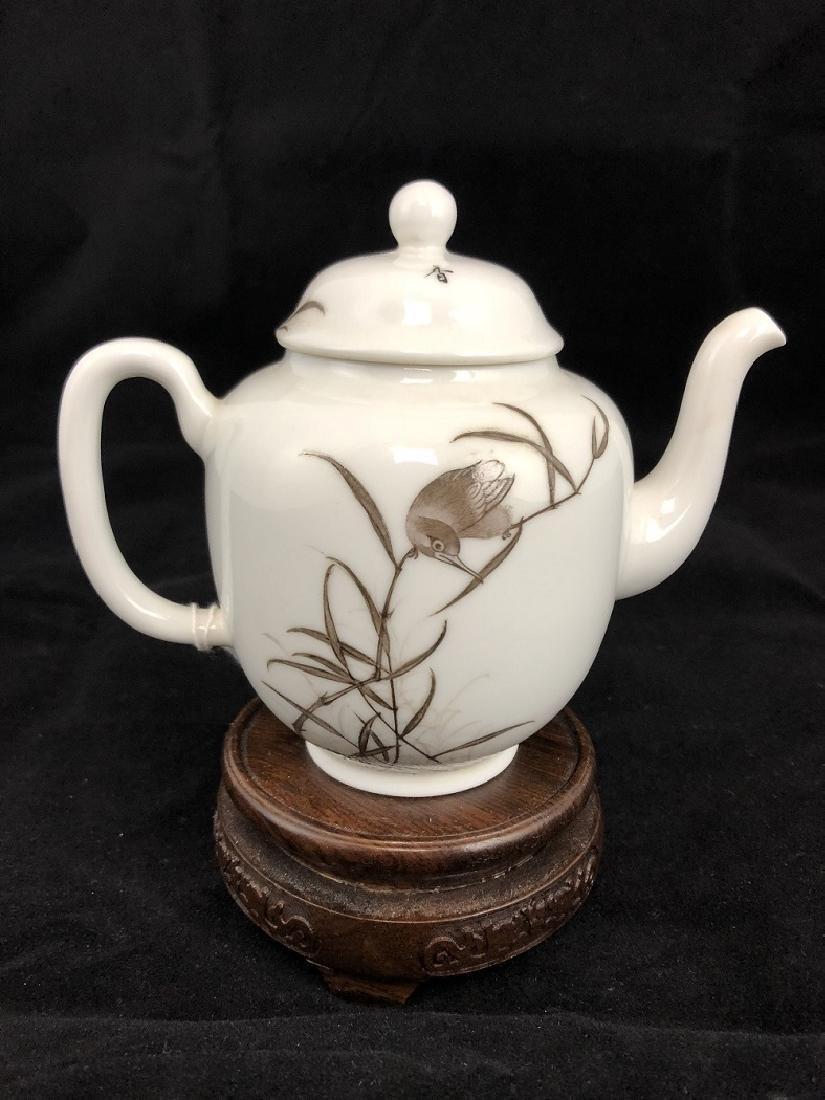 Early 20th Century Porcelain Tea Pot