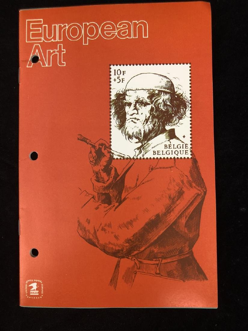 America and European Stamp