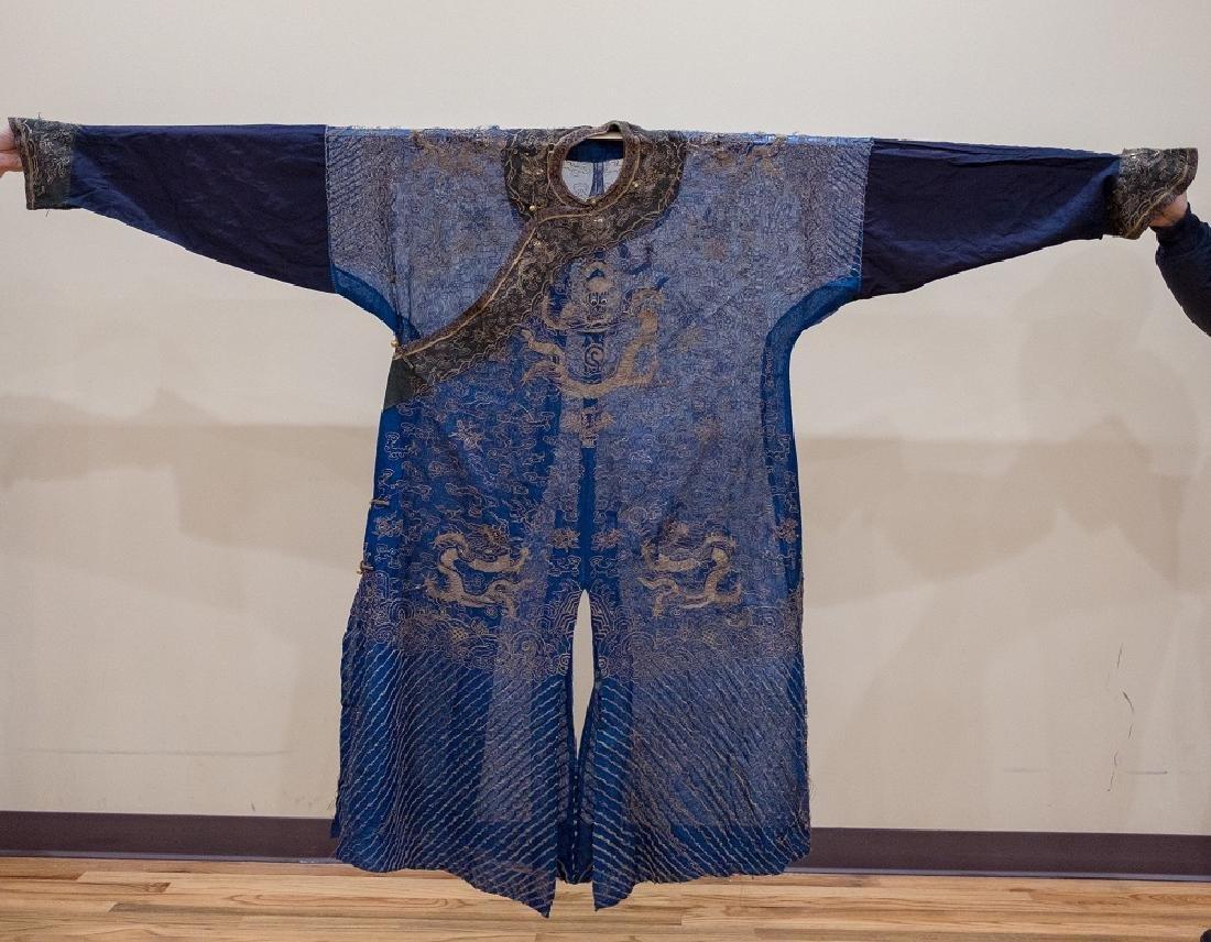 QING Silk Dragon Robe-Summer