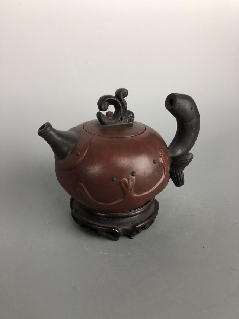 Chen Mingyuan seal Zisha tea pot