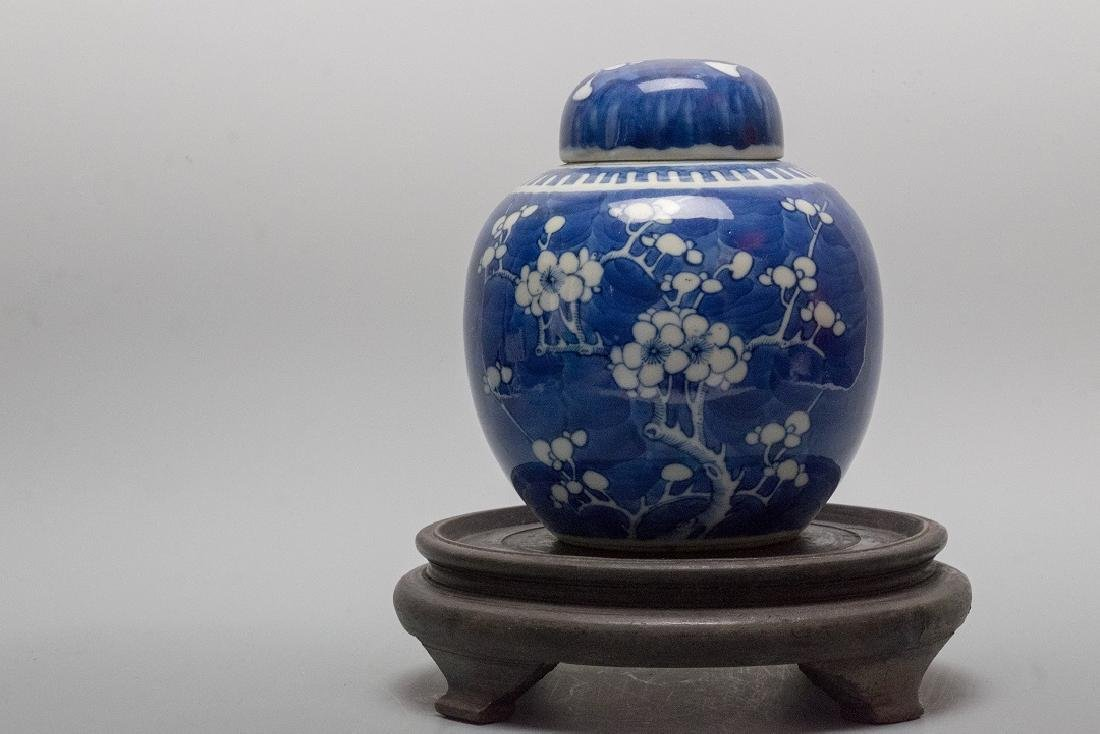 19th Century Period Ice Mei Pot