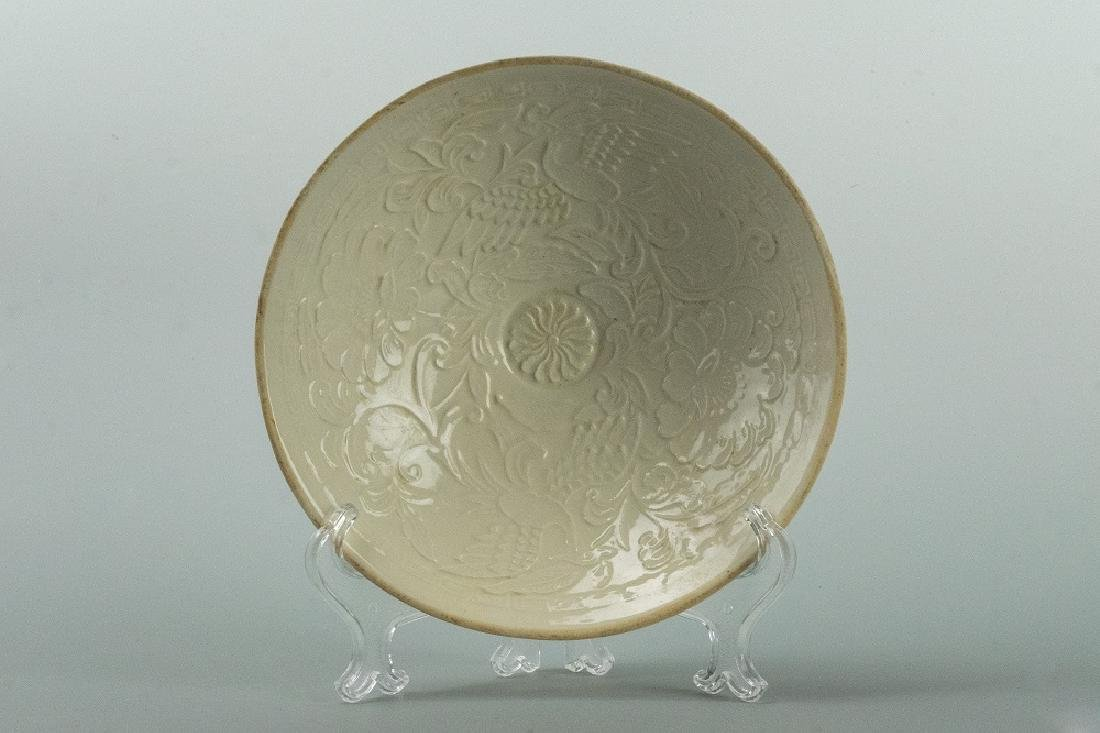 SONG DYNASTY 'DING' floral Bowl